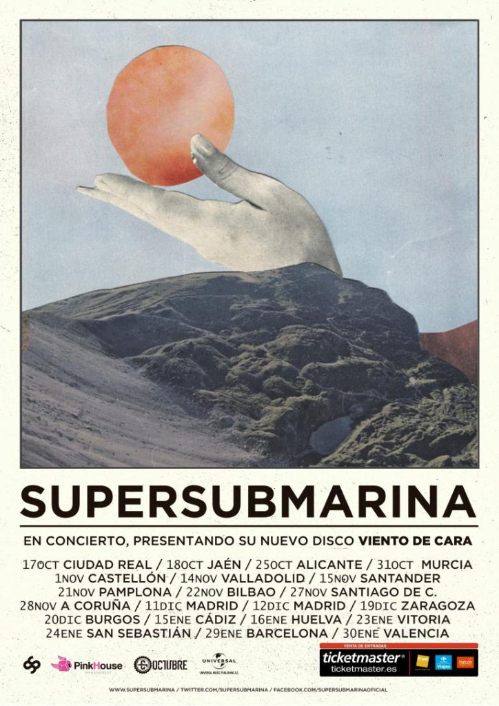 Cartel gira Supersubmarina